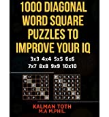 [ 1000 DIAGONAL WORD SQUARE PUZZLES TO IMPROVE YOUR IQ ] BY Toth M a M Phil, Kalman ( Author ) [ 2013 ] Paperback
