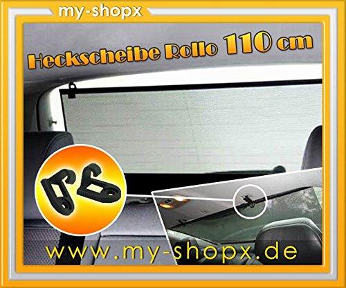 Auto Sonnenschutz Heck Rollo Sonnenrollo 110 cm Heckscheibe Sonnenschutzrollo