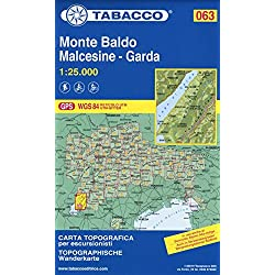 Monte Baldo - Malcesine - Garda 1:25.000