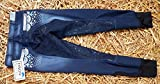 Jeans Reithose Reiterhose Jeansreithose Salina Silicon Grip Vollbesatz + Stick + Strass Schlupf Blau stoned washed 36 38 40 42 Tysons Breeches (38)