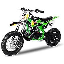 Dirtbike NRG50 GT 49cc 12/10 Cross Enduro Bolsillo Moto Quad - Green