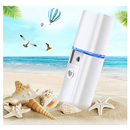 Zyq aerosol a pistone inalatore nebulizzatore aerosolterapia per adulto e bambini, portatile silenzioso e efficiente mini asma home salute cura nano idratante penetrazione profonda,blue