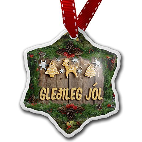 Monsety Lustige Weihnachtsdekoration für Kinder, Weihnachtsbaumschmuck, Weihnachtsdekoration in Island, Weihnachtsbaumschmuck