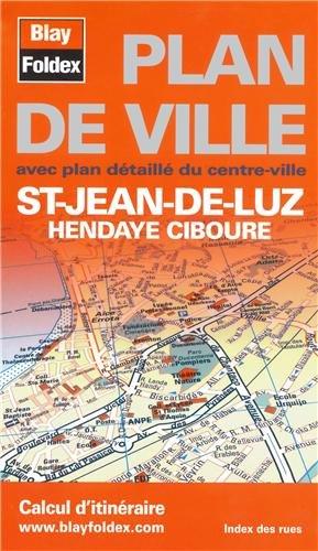Plan de Saint-Jean-de-Luz - Hendaye - Ciboure