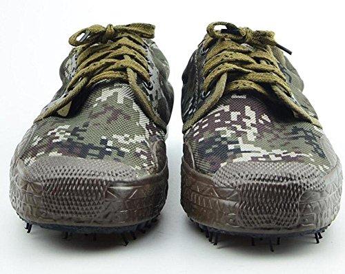 SHIZDC Männer Low-Top Turnschuhe Desert Camouflage Training Schuhe Desert Training Schuhe Military Training Outdoor Training Schuhe Outdoor Wandern Schuhe Camouflage