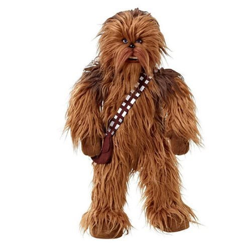 Image of Star Wars 24-Inch Mega Poseable Chewbacca Talking Plush