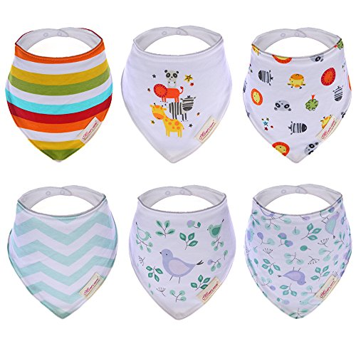 hxhome-baby-bandana-drool-bibs-unisex-design-pack-of-6