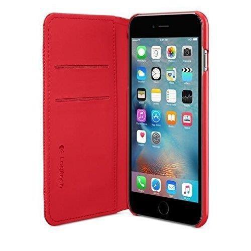 'Logitech 939–0014335.5Handy A Geldbörse rot Handy-Schutzhülle (Logitech Iphone Case 6)