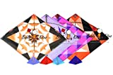 #5: 40 Designer Multicolor Printed Designer Fighter Cheel Kites + Free Shipping