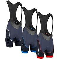 Tenn Mens Viper 8 Panel Padded Cycling Bib-Shorts 2.0