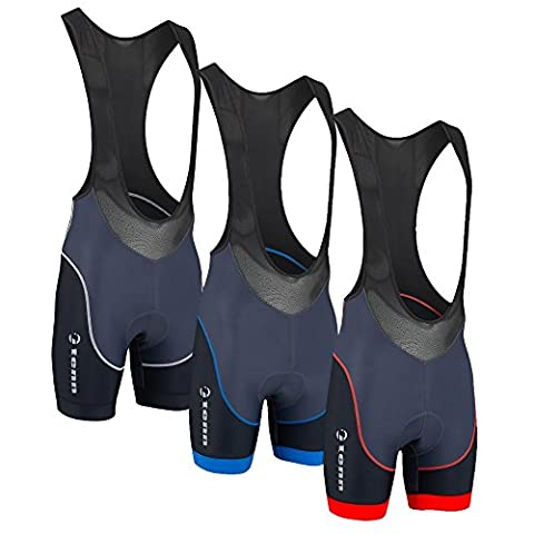 Mens Viper Bib Shorts 2.0 - Red -