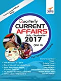 Quarterly Current Affairs - July to September 2017 for Competitive Exams Vol 3
