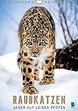 Raubkatzen: Jäger auf leisen Pfoten (Wandkalender 2018 DIN A4 hoch): Sprungkraft, Eleganz und Schönheit: Jaguar, Löwe und Ozelot (Monatskalender, 14 ... [Kalender] [Apr 01, 2017] CALVENDO, k.A.