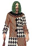 Leg Avenue 85622-2 teilig Creepy Circus Clown, Männer Karneval Kostüm Fasching, XL, mehrfarbig