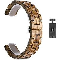 Cinturini per orologi alla moda 2. 2MM. Cinturino in legno, compatibile con orologio Huawei GT 2. Pro. / GT2 46MM. Honor…