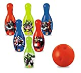 Bowling Set mit Kugel + Kegel Spiel-Strand Avengers mod557