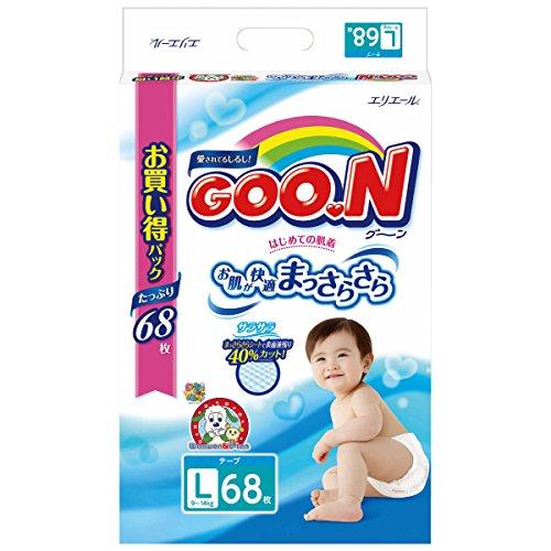 ische Windeln Gr. L (9-14 kg) 68 Stück // GOO.N ( Goon ) Японские подгузники size - L (9-14 kg.) 68 pc. ()