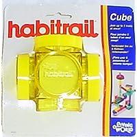62323 Habitrail Kreuzstück, gelb, einf.