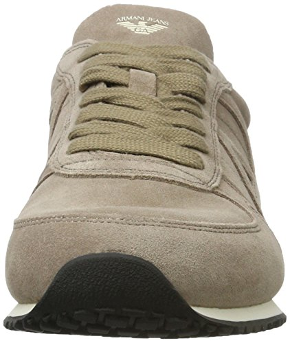 Armani Jeans 9350277p443, Sneakers basses homme Elfenbein (taupe 1710)