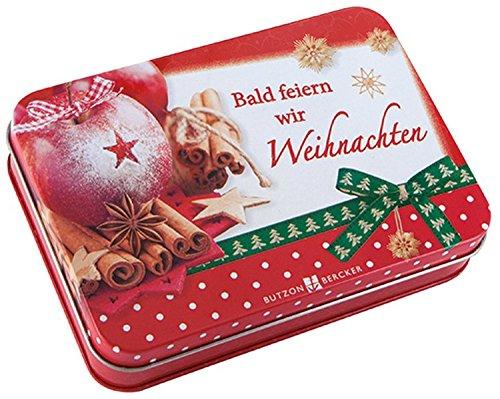 Bald feiern wir Weihnachten: 24 Karten zum Advent (Wir-karte-kalender)