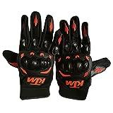 ZCFXJiTuanYZ Outdoor Herren Schutzausrüstung Reiten KTM Handschuhe voller Finger Off-Road-Motorrad-Fahrradhandschuhe