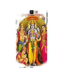 FIOBS lord srirama lakshama sita devi family hanuman hindu religious gods god hinduism great beautiful Designer Back Case Cover for Samsung Galaxy On Nxt (2016)