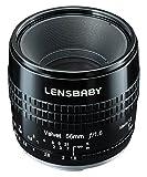 Lensbaby SoftLens Samt 5656mm F1.6Für Pentax K Mount schwarz