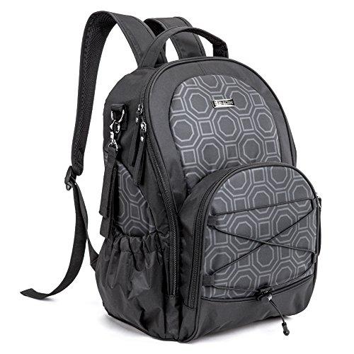 evecase-baby-diaper-backpack-large-capacity-nappy-changing-bag-travel-bag-handbag-multi-functional-s