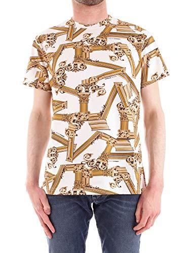Versace Jeans B3GTB7R0S0503 T-Shirt Mann Weiss 3XL
