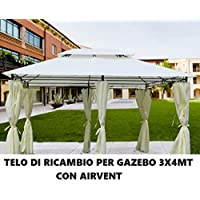Tende Per Gazebo In Legno.Amazon It Legno Gazebo Ombrelloni Tende E Tettucci Parasole