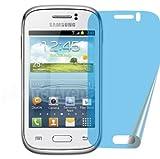 4x SAMSUNG Galaxy Y Young GT-S6310N ENTSPIEGELNDE Displayschutzfolie Bildschirmschutzfolie Schutzhülle Displayschutz Displayfolie Folie