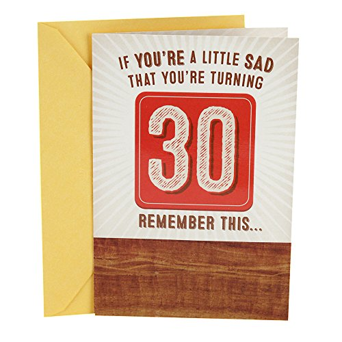 Hallmark 30th Birthday Greeting Card (Remember Beer)