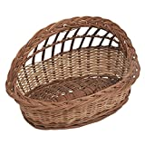 #9: A & E Classic Multi Purpose Brown Cane Basket