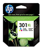 HP 301 XL CH564EE Cartuccia Originale per Stampanti a Getto di Inchiostro, Compatibile con Stampanti DeskJet 1050, 2540 e 3050, HP OfficeJet 2620 e 4630, HP ENVY 4500 e 5530, Tricromia