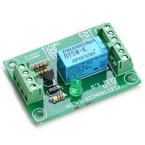 Electronics-Salon Signal de la voix DPDT Module de relais, 5 Vdc, RY5W-K Relay. A monter.