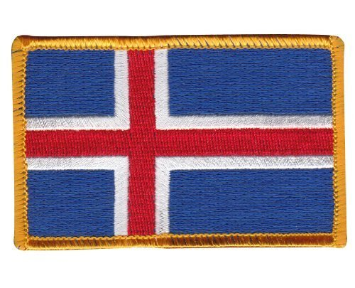 Parche Bandera Islandia Flag It Online Stores, Inc