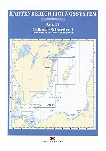 Sportbootkarten-Berichtigung Satz 11 (2017): Ostküste Schweden 1: Alle Infos bei Amazon