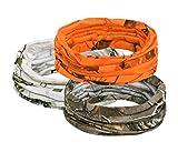 PINEWOOD® UNISEX CAMOU SCHAL/TUBE 3er Pack weiß, orange, braun camouflage