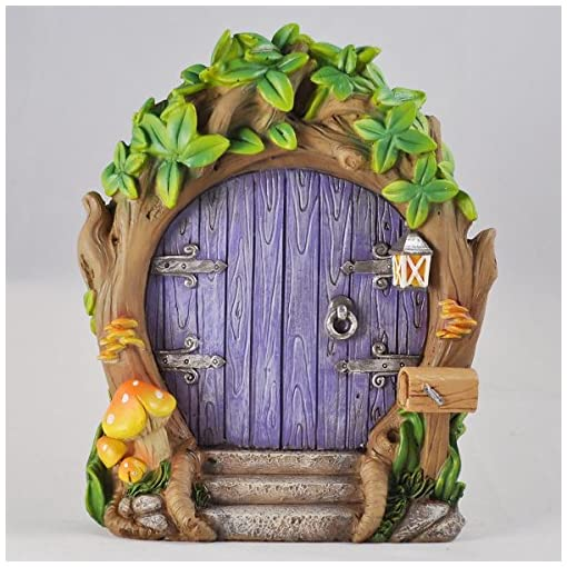 Squirrel Toad Stool Garden miniature Pixie Elf LGW Real Wood Fairy Door Rabbit