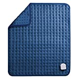 MaxKare Large Heating Pad with 5 Temperature Levels, Soft Electric Heated Pad with Timer and Machine-Washable Flannel for Stress Relief and Warming on Back, Neck, Leg, Feet (20x24in / 50x60cm)