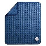 MaxKare Elektrisch Heizkissen für Rücken Nacken Schulter Großes Wärmekissen (50 x 60cm) mit Abschaltautomatik und Temperatureinstellung in 5 Stufen Weiche Oberfläche und Waschmaschinenfestes Gewebe