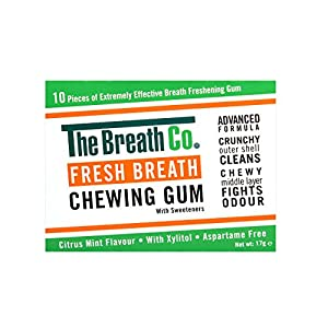Atemfrische–Kaugummi mit Sauerstoff gegen Mundgeruch