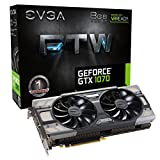 EVGA GeForce GTX 1070 FTW GAMING ACX 3.0, 8 GB GDDR5 (256 Bit), HDMI, DVI, 3xDP