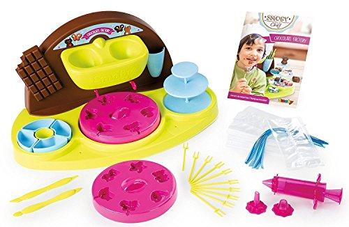 Smoby Toys, 312102, Chocolate Factory, Nombreux Accessoires Inclus dont 1 Livre de Cuisine