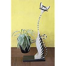 Decorative fioriera in metallo Stand con Forma