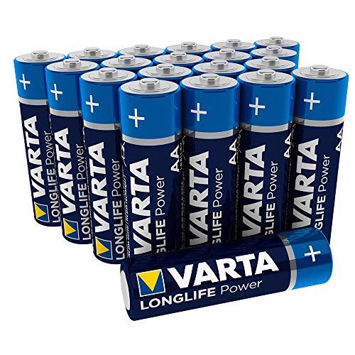 Varta Longlife Power Batterie AA Mignon Alkaline Batterien LR6 - 20er Pack