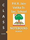 #9: P. K. R. Jain Vatika Sr. Sec. School Class Nursery Notebook Bundle