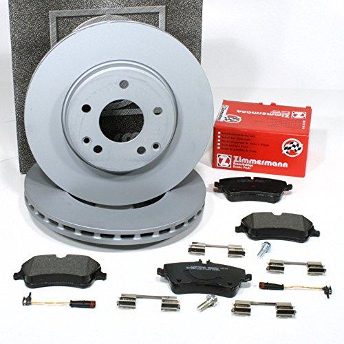 Preisvergleich Produktbild Zimmermann Bremsscheiben Ø 288 mm Coat Z / Bremsen + Bremsbeläge + Warnsensoren für vorne / für die Vorderachse