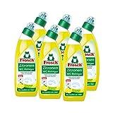 6x Frosch Zitronen WC-Reiniger 750 ml - Kalklösend mit Zitrone