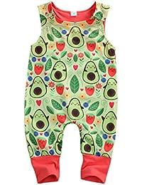 Pijama para bebé de Pijama de bebé de Pijama de bebé de Pijama de verano con estampado de dinosaurios